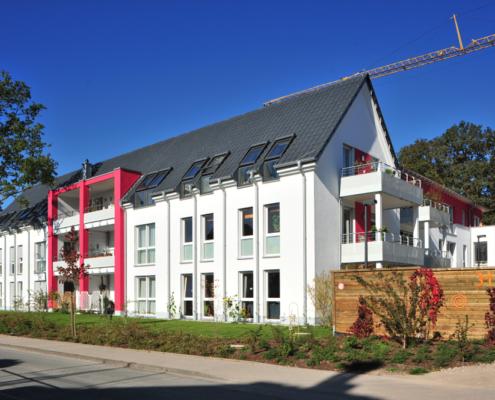Der Bielefelder Beginenhof - Südseite