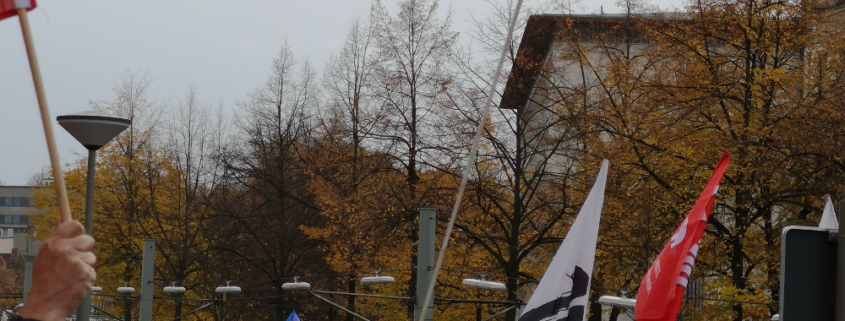 Bielefelder Beginen gegen rechts - Demo November 2018